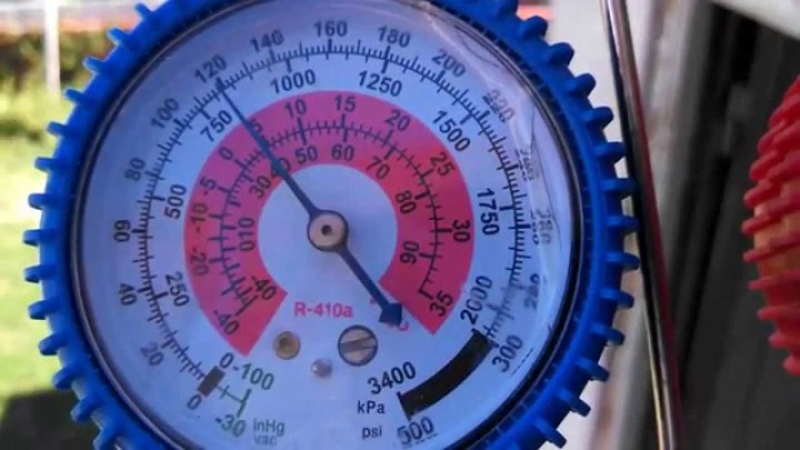 Tabla Presión Temperatura